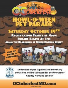 2019 OCtoberfest Pet Parade Flyer